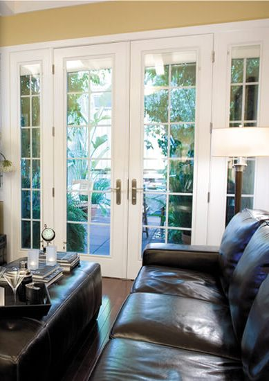 How to Stop French Doors Blowing In The Wind?