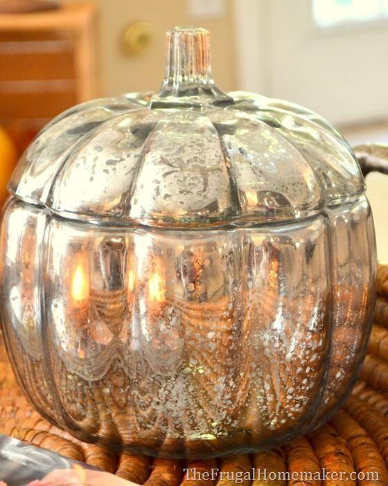 DIY pumpkin bowl - Thanksgiving decorations