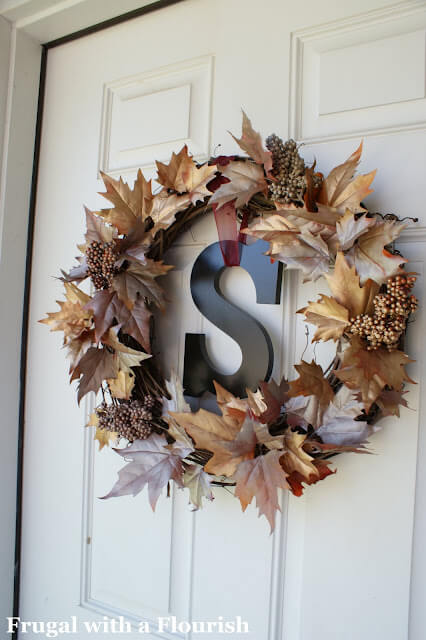 Leaves = wreathes
